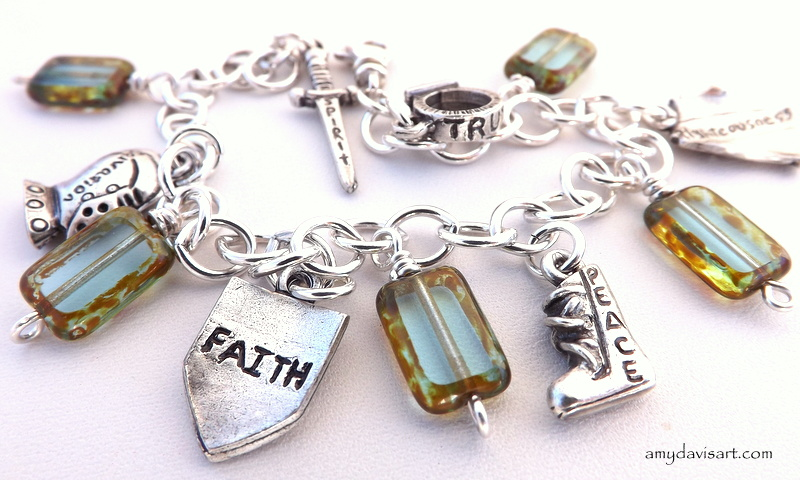 Armor of God Charm Bracelet - new design!
