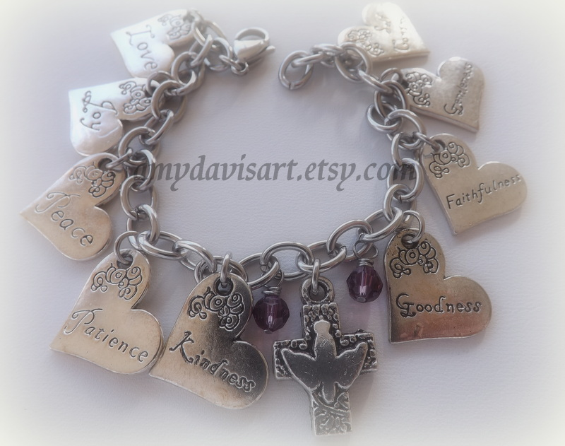 Fruit of the Spirit Charm Bracelet