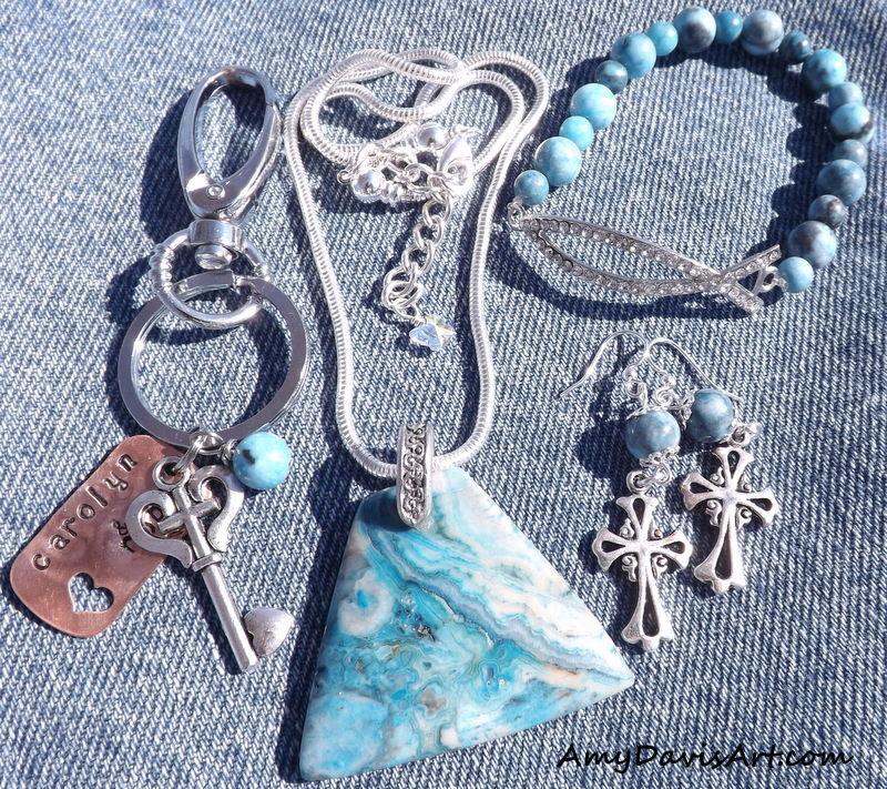 Western Wedding Jewelry Set