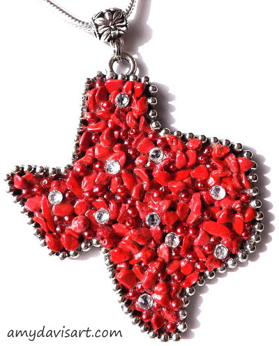 Red Texas Necklace