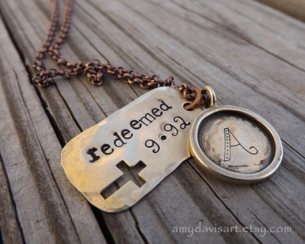 Redeemed in Christ Christian Necklace