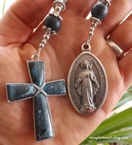 Blue Jasper Women's Rosary