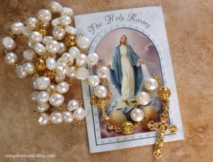 Loreto Crucifx - makes for a lovely wedding or anniversary rosary