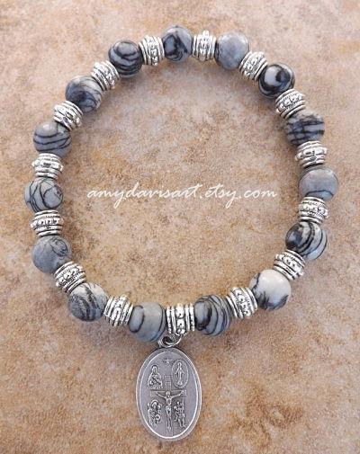 Catholic Men's Bracelet