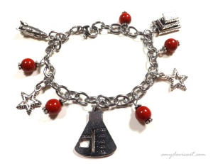 Science Teacher Charm Bracelet