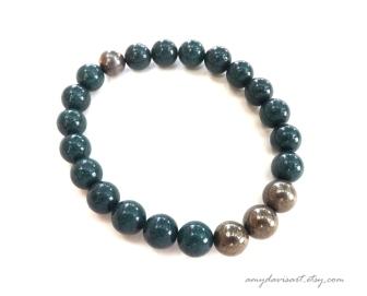 Dark Green Men's Bracelet
