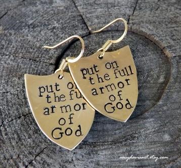 "Ephesians 6 ""put on the full armor of God..."""