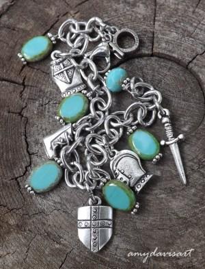 Armor of God Ephesians 6 Charm Bracelet