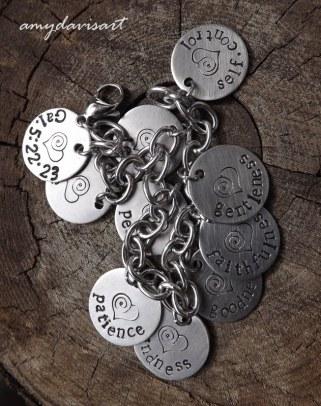 Galatians 5 Charm Bracelet