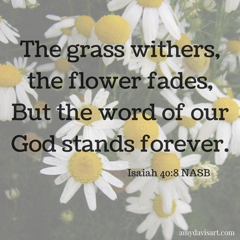 Isaiah 40.8 (2)
