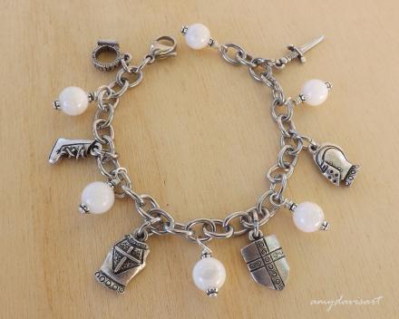 Ephesians 6 Armor of God Charm Bracelet