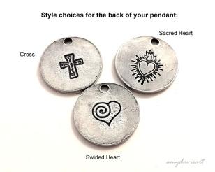 handstamped pendants