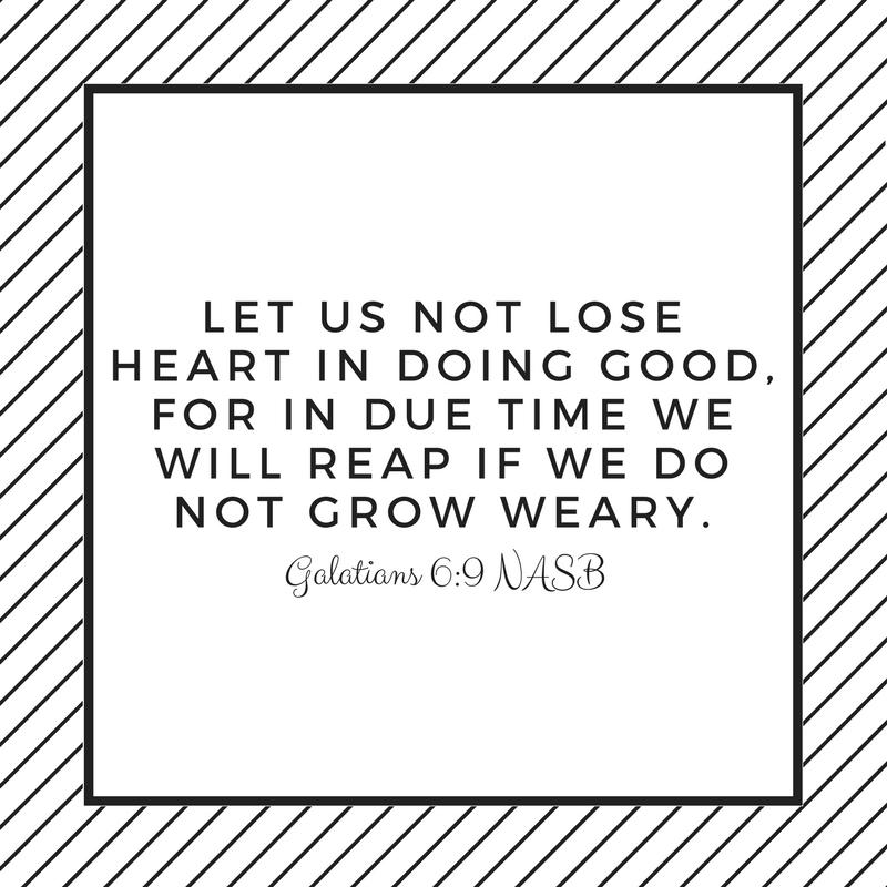 Galatians 6:9 Bible verse