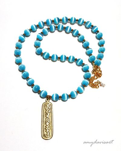 Turquoise Blue Necklace for Woman