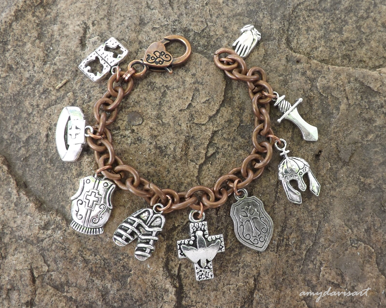 Ephesians 6 Put on the Full Armor of God Christian Jewelry